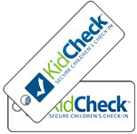 KidCheck Children's Check-in Guardian Keytags