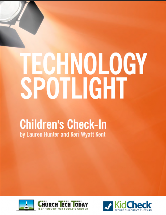 Technology and Children's Check-in eBook