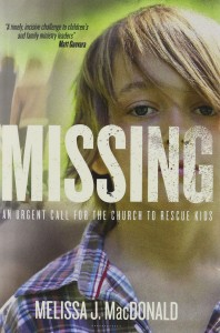 KidCheck Secure Children's Check-In Book Review of Missing by Melissa MacDonald