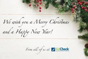 KidCheck Secure Children's Check-In Wishes You A Merry Christmas