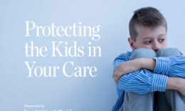 KidCheck Secure Children's Check-In is sharing a free eBook Protecting The Kids In Your Care