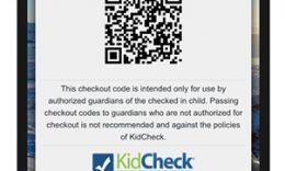 KidCheck Secure Children's Check Out New Check Out Receipt Texts