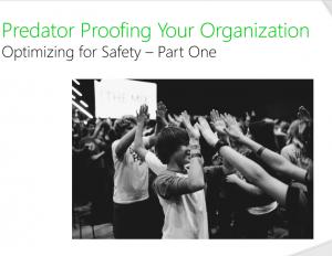 Predator Proofing Your Organization Webinar