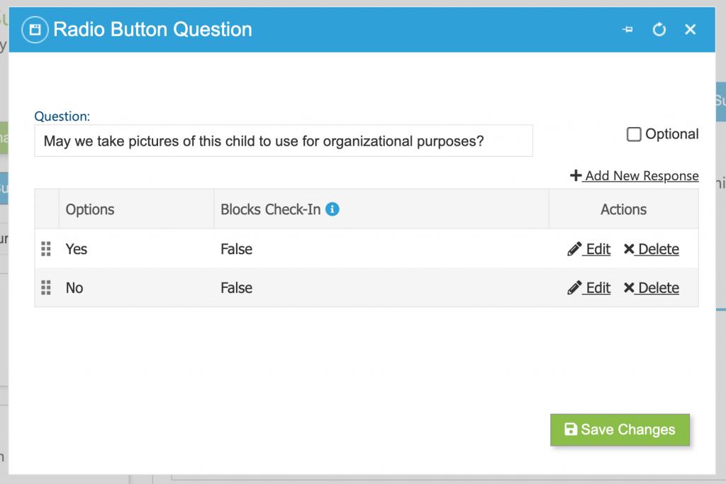Add survey questions